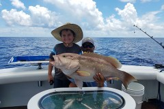 kid friendly deep drop fishing charter