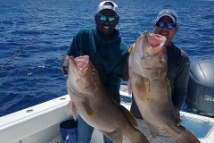 grouper Fishing pair